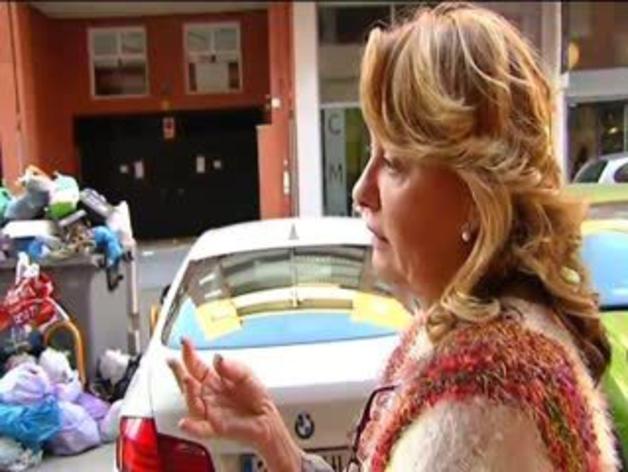 Huelga del servicio de recogida de basura en Málaga