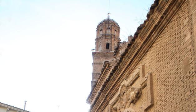 Una imagen de la fachada de la antigua iglesia de San Nicolás.