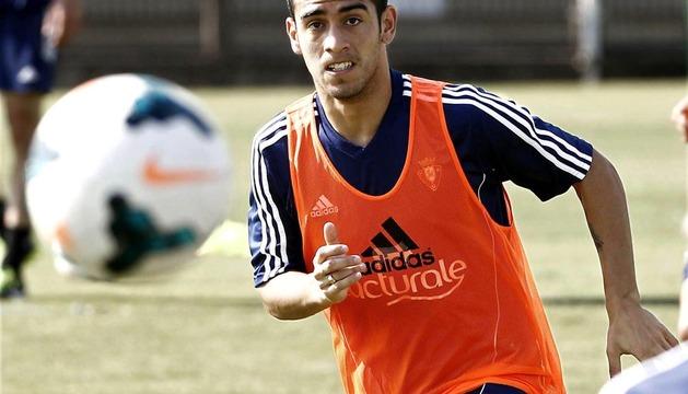 Imagen de archivo del pasado mes de agosto del delantero paraguayo Ariel Nuñez