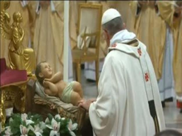 Primera Misa del Gallo del papa Francisco