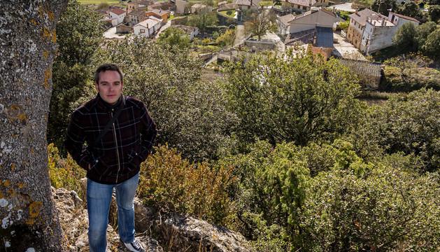 Pedro Bujanda Cirauqui se asoma a los barrios de su pueblo