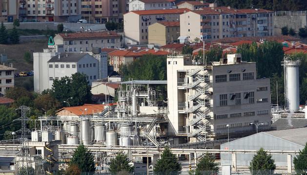 Vista general del barrio de Echavacoiz