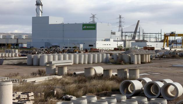 Una imagen de la central térmica de Iberdrola en Castejón