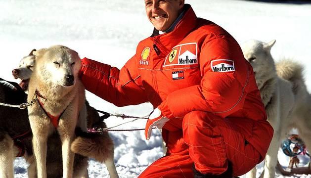Imágenes de la carrera deportiva de Michael Schumacher, expiloto alemán de Formula 1.