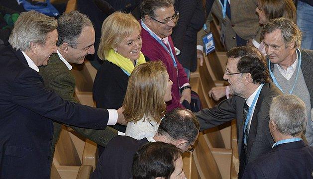 Rajoy, este sábado, en Valladolid
