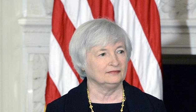 Janet Yellen, el pasado mes de octubre, cuando fue propuesta por Obama para presidir la Fed.