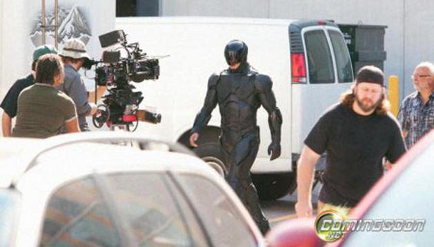 El rodaje de la nueva versión de 'Robocop'