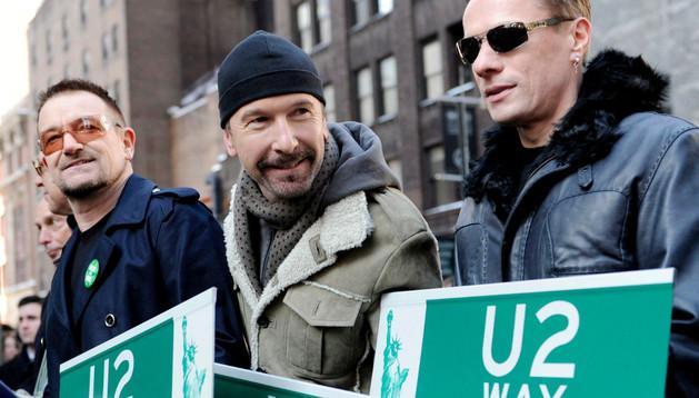 Los componentes de U2