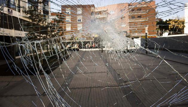 Una imagen de Alcorcón este domingo