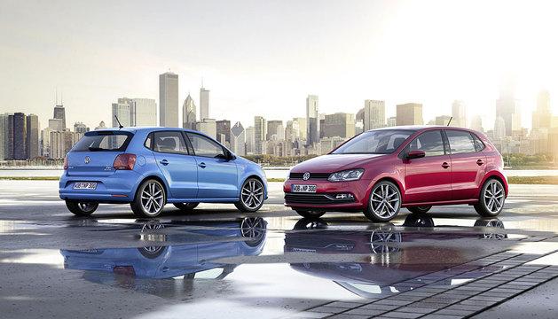 Dos Volkswagen Polo.