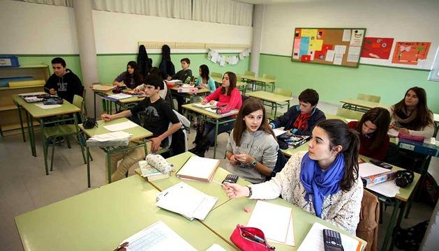 El Instituto IESO La Paz de CIntruénigo fue creado en 1995