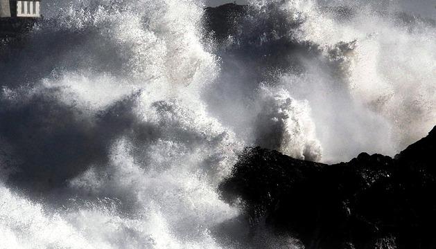 Nuevo temporal marítimo en el Cantábrico