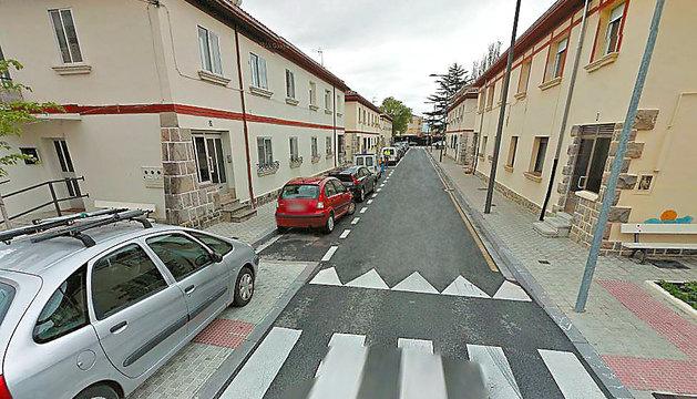 Calle Aguilar de la Chantrea donde ocurrió el robo.