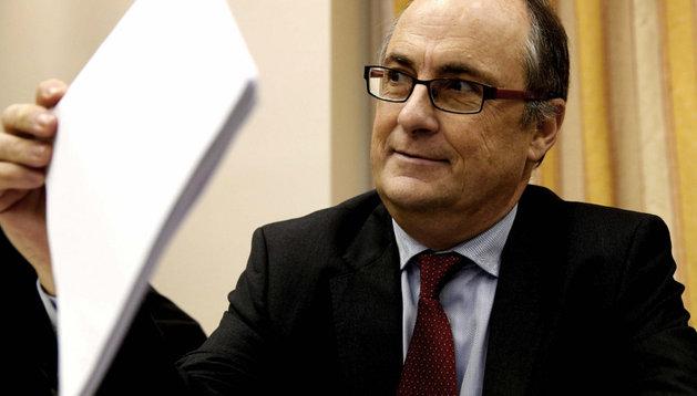 El presidente del Fondo de Reestructuración Ordenada Bancaria (FROB), Fernando Restoy, este miércoles