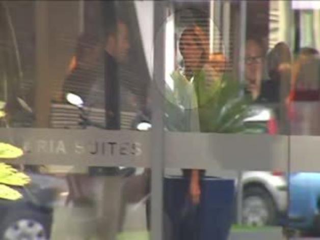 La Infanta Cristina ya está en Barcelona