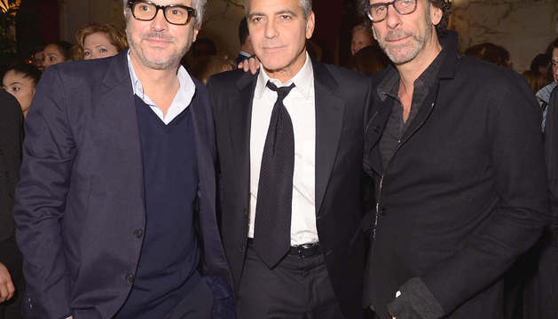 Clooney en el estreno de 'The monuments men'
