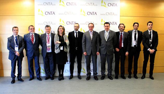 Ponentes y participantes en la jornada del CNTA