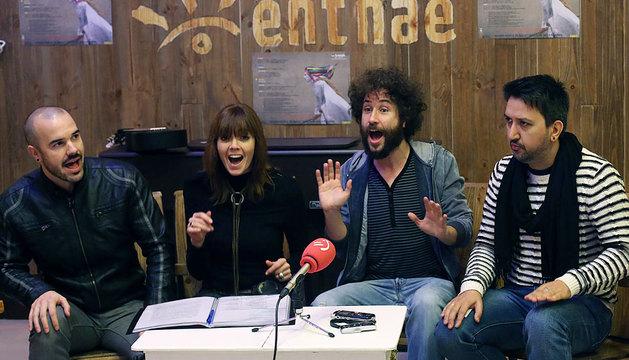 Demodé Quartet, uno de los grupos que actuarán en el ciclo Golfos 2014.
