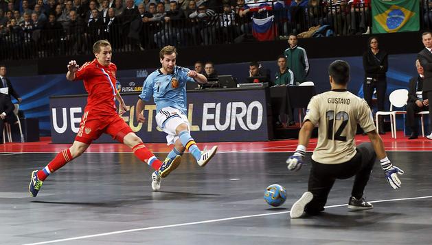 El ala de la selección española Adrián Alonso Pereira,