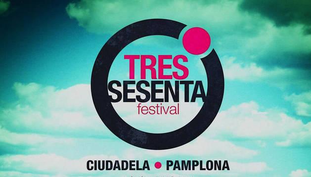 Cartel del Tres Sesenta Festival de este año.