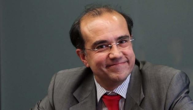 Enrique Alcat, en Pamplona, en 2011