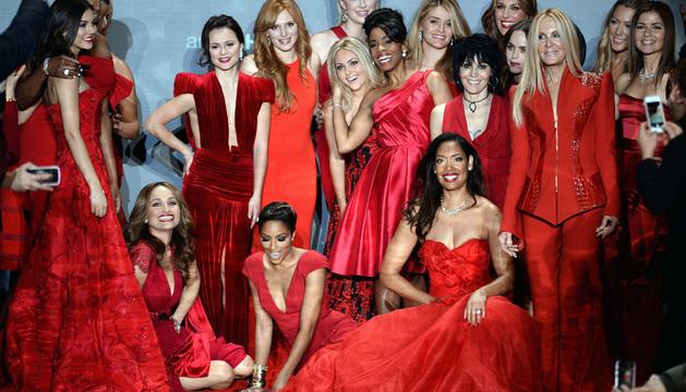 Veintitrés mujeres desfilaron por la pasarela del