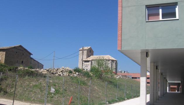 Aspecto que presentaba el pueblo viejo en 2011, cuando empezaron las últimas obras de adecuación
