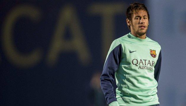 Neymar se entrena con normalidad y ultima su recuperación