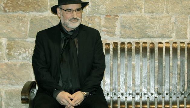 El escritor donostiarra, Fernando Aramburu, este lunes