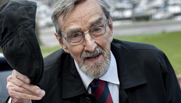 El director Gabriel Axel, autor de