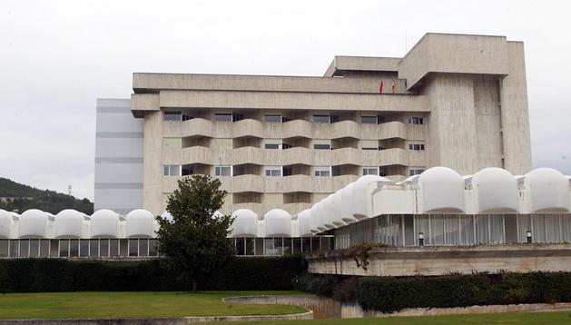 La Clínica Ubarmin, donde se atiende gran parte de la traumatología programada