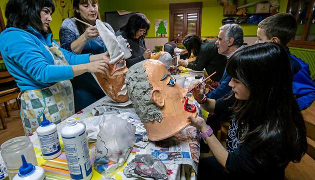 Una sesión del taller en Bargota