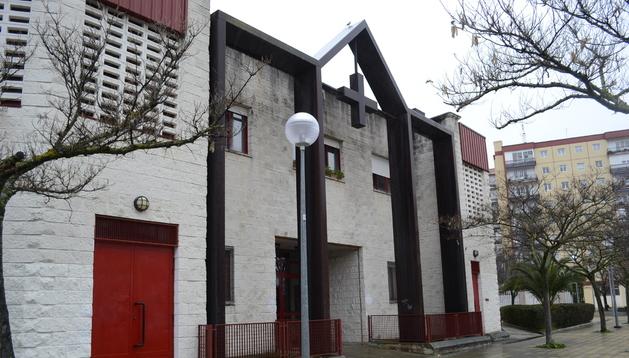 Parroquia de San Cristobal, ubicada en el barrio de la Chantrea.