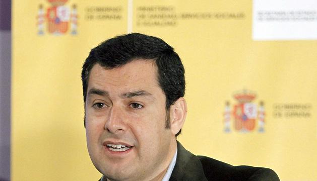 Fotografía de archivo tomada en Madrid el 31/01/2014 del secretario de Estado de Servicios Sociales e Igualdad en el Gobierno, Juan Manuel Moreno