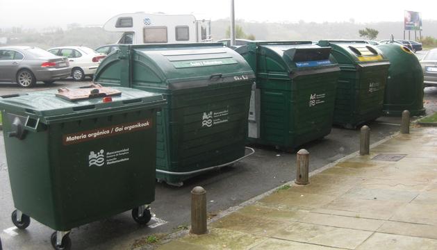 El quinto contenedor está presente en Barañáin desde el mes de noviembre