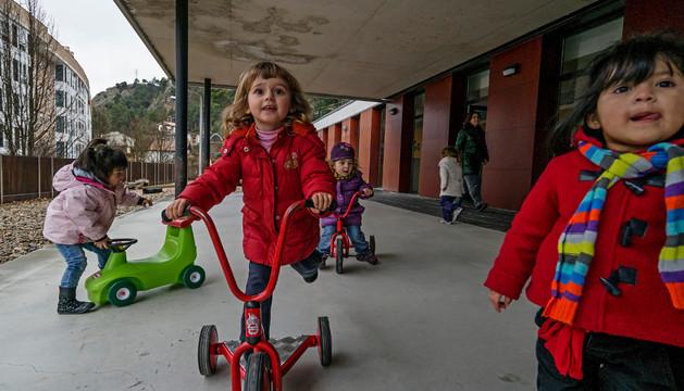 Niños de la escuela infantil Arieta de Estella