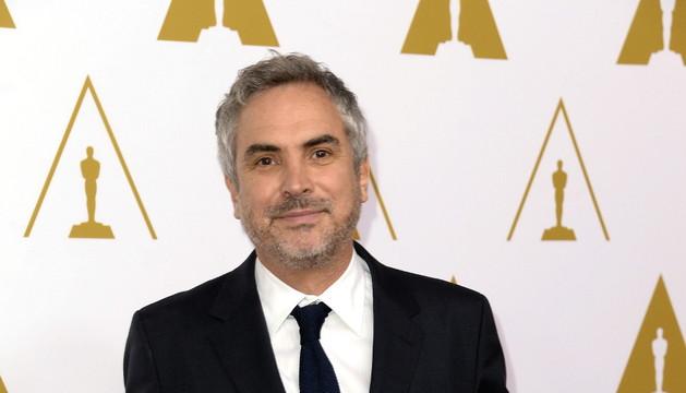 Cuarón en el almuerzo anual de los nominados a los Premios Oscar