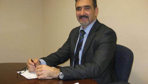 Juan Carlos Equiza, presidente de ATA Navarra