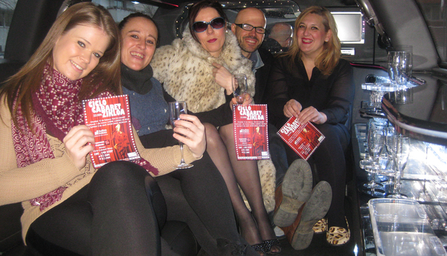 Integrantes del Auditorio y de Tdiferencia, artífices del Ciclo de Cabaret
