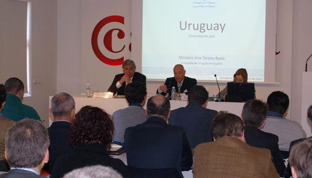 Sesión sobre oportunidades de inversión en Uruguay