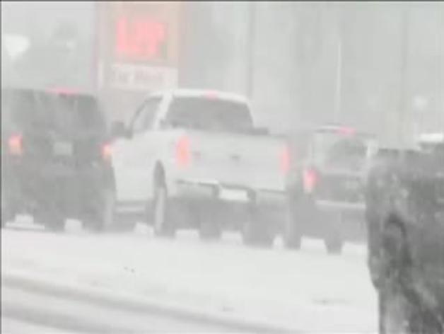 El temporal de nieve avanza hacia el este de EE UU
