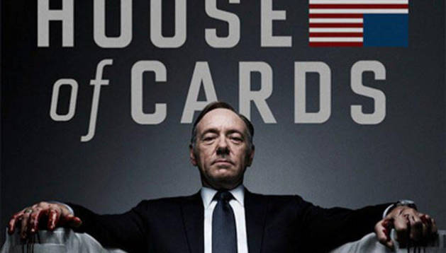 House of Cards está protagonizada por Kevin Spacey y Robin Wright.