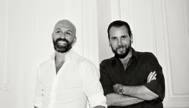Alvarno: Arnaud y Álvaro (dcha).