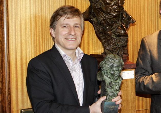 Gaizka Urresti, ganador del Goya al mejor Cortometraje de Ficción 2014
