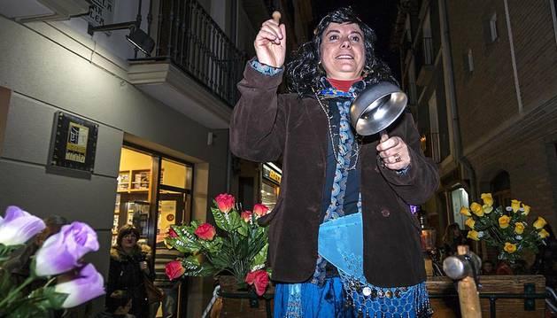La llegada de los Caldereros es el preludio de los Carnavales en Estella