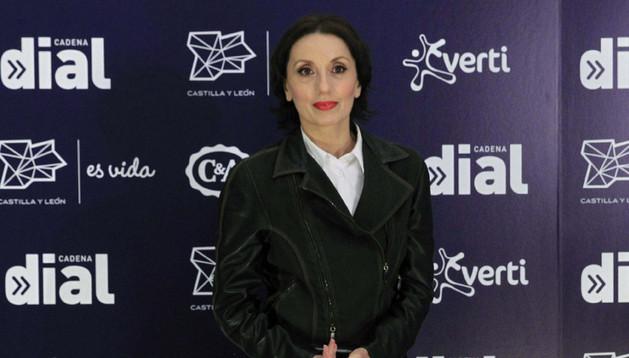 Luz Casal, en la presentación de los Premios de la Cadena Dial 2013