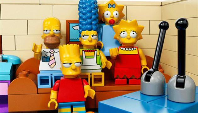 Las piezas de Lego de la serie 'Los Simpsons'