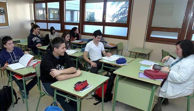 IESO Elortzibar en Noáin, trabajo constante por una enseñanza de calidad.