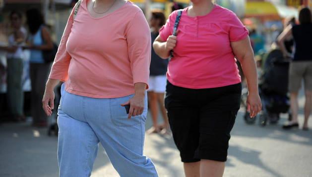 Personas con sobrepeso en EE UU