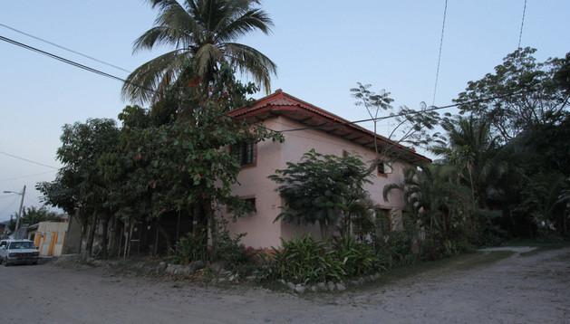 La casa donde residían los dos etarras detenidos el domingo en México